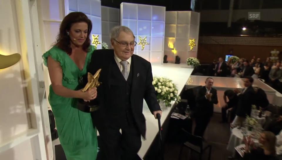 Jörg Schneider am Prix Walo 2014