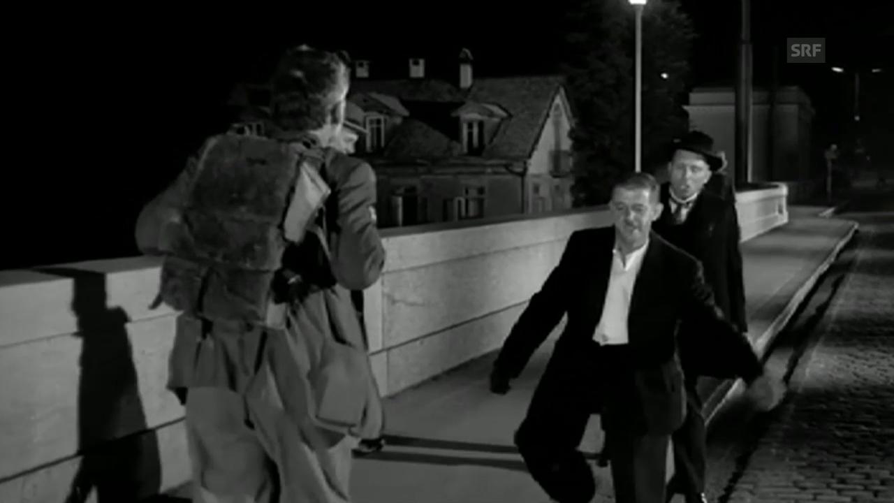 Dällebach Kari, Filmausschnitt (Schwarzi Müüs und Nähmaschine)