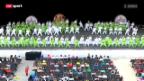 Video «Eidgenössisches Turnfest: Eröffnungsfeier» abspielen