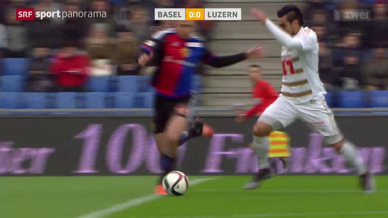 Fussball: Basel - Luzern