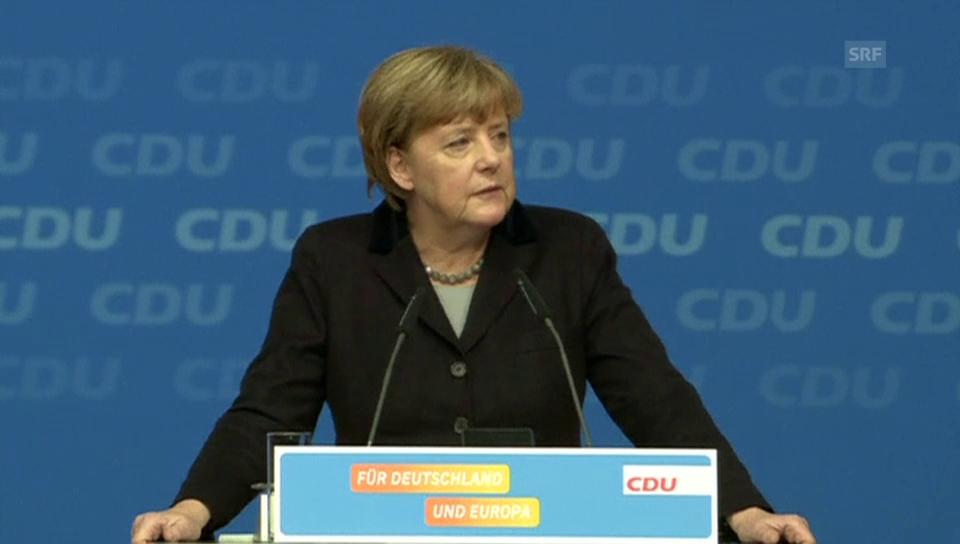 Merkel: «Wir schaffen das.»
