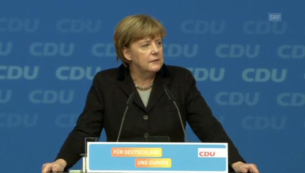 Video «Merkel: «Wir schaffen das.»» abspielen