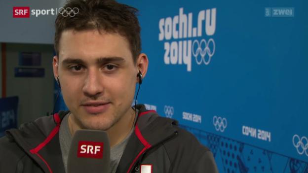 Video «Eishockey: Interview mit Nino Niederreiter» abspielen