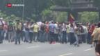 Video «Venezuela droht Eskalation» abspielen