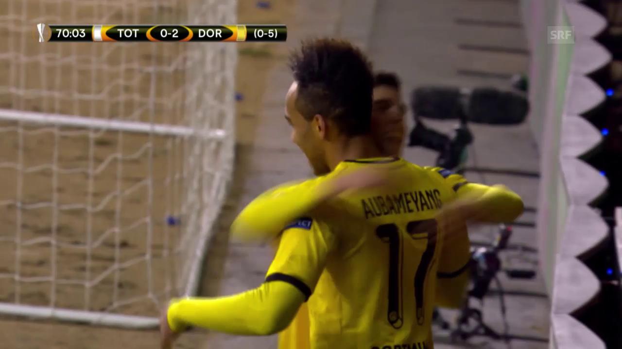 Der BVB lässt den Spurs keine Chance