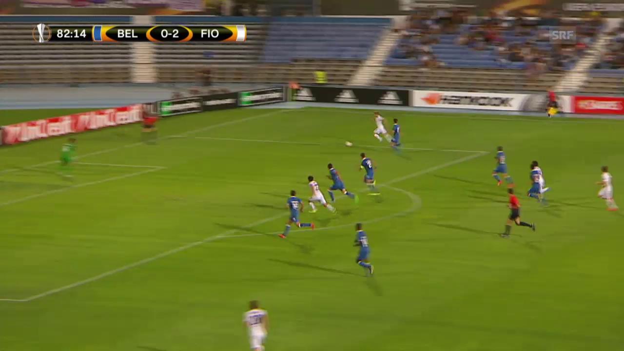 Fussball: Europa League 2015/16, 2. Gruppenspiel, Belenenses - Fiorentina