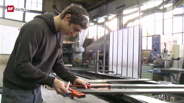 Video «Berufsbild: Metallbauer EFZ» abspielen