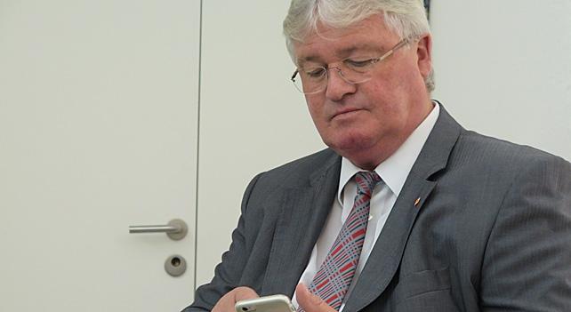 CVP-Aargau Präsident Markus Zemp hatte sich mehr erhofft (18.10.2015)