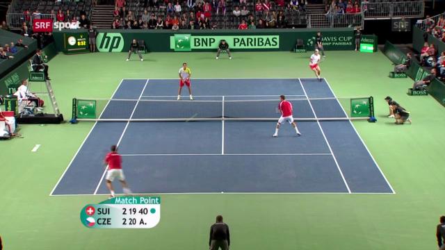 Davis Cup: Schweiz verliert historisches Doppel gegen Tschechien