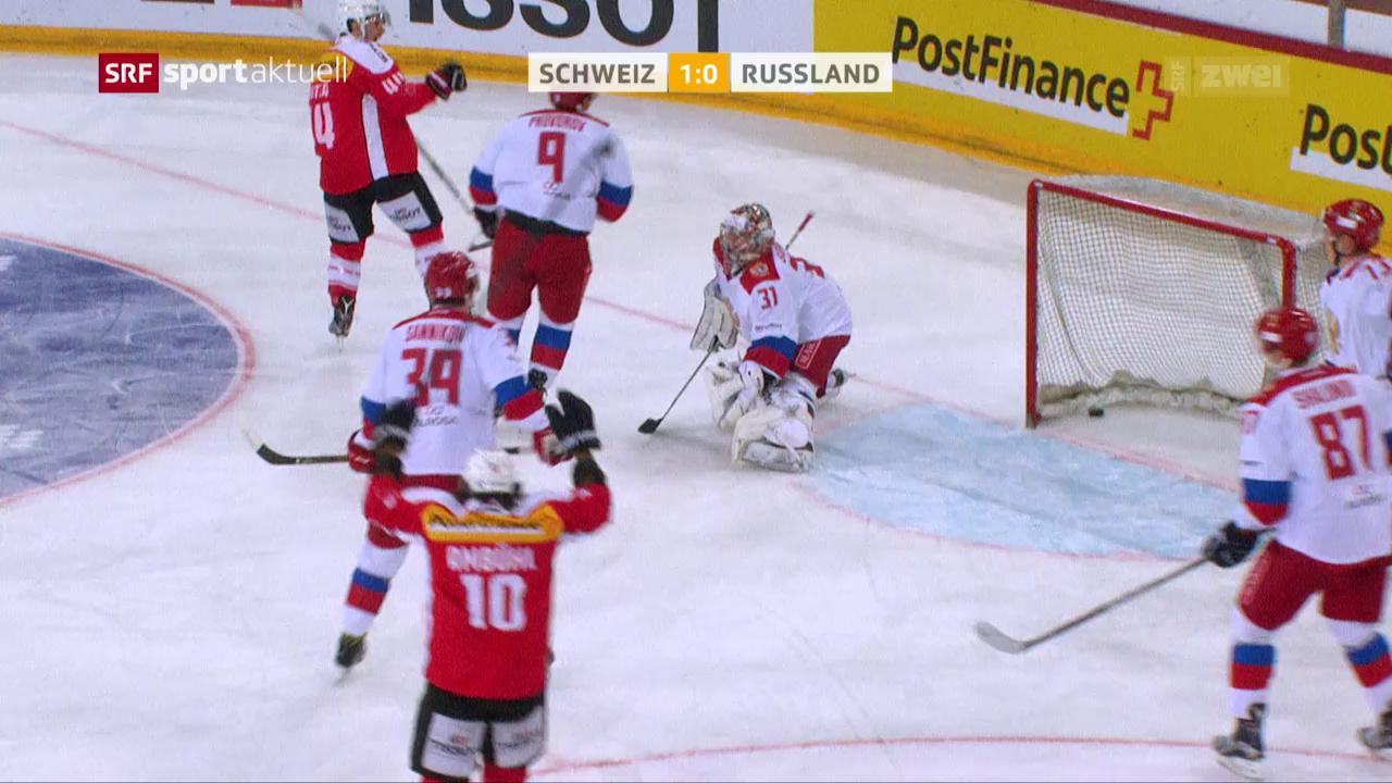 Hockey-Nati schlägt Russland auch ein 2. Mal
