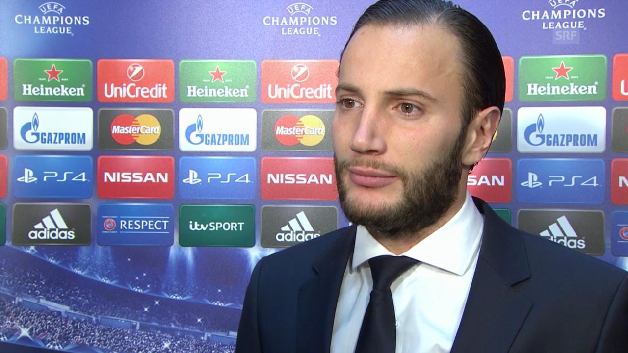 Fussball: Champions League, Shkelzen Gashi im Interview