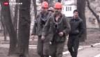 Video «Schweres Unglück in Kohlebergwerk in Donezk» abspielen