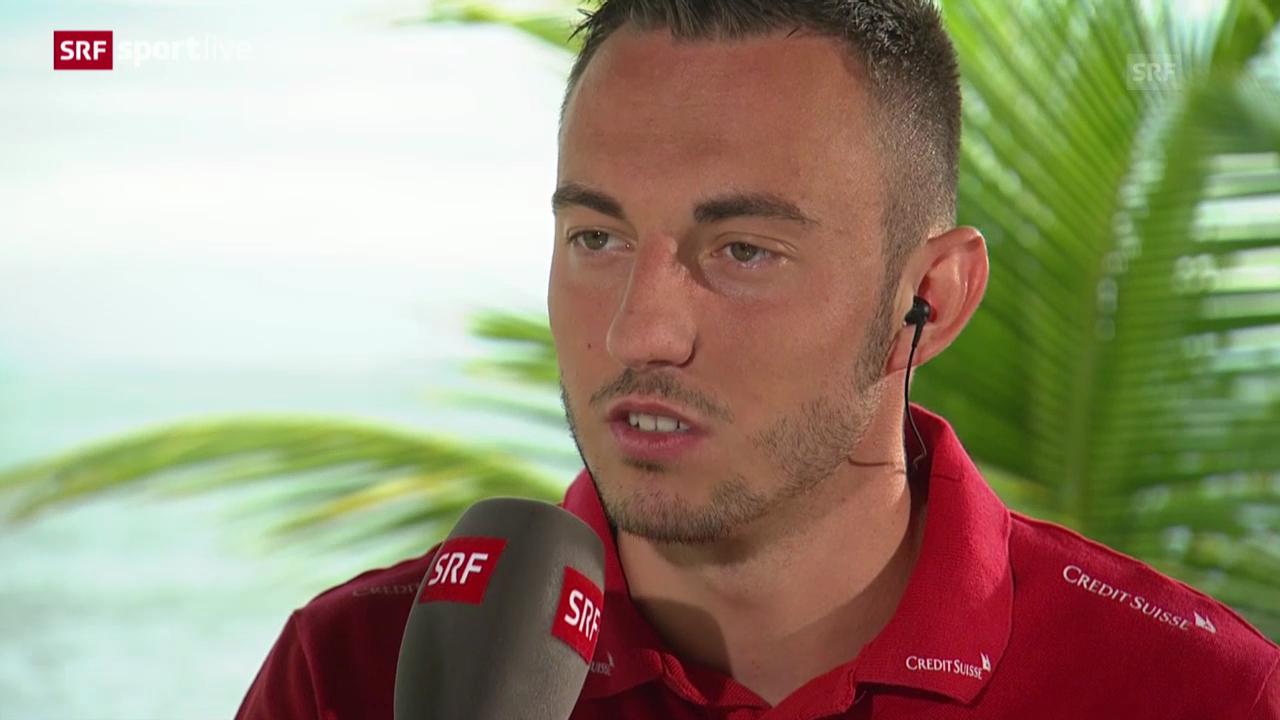 FIFA WM 2014: Josip Drmic im Gespräch