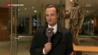 Video «Weitere Einschätzungen von SRF-Korrespondent Adrian Arnold aus Berlin zum Verzicht von Sigmar Gabriel, als Kanzlerkandidat anzutreten.» abspielen