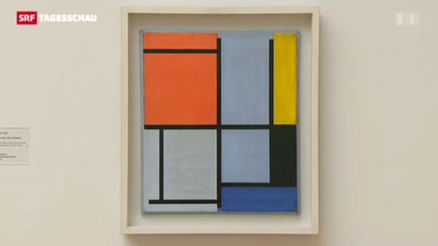 Video «Mondrians Kunst in Basel» abspielen