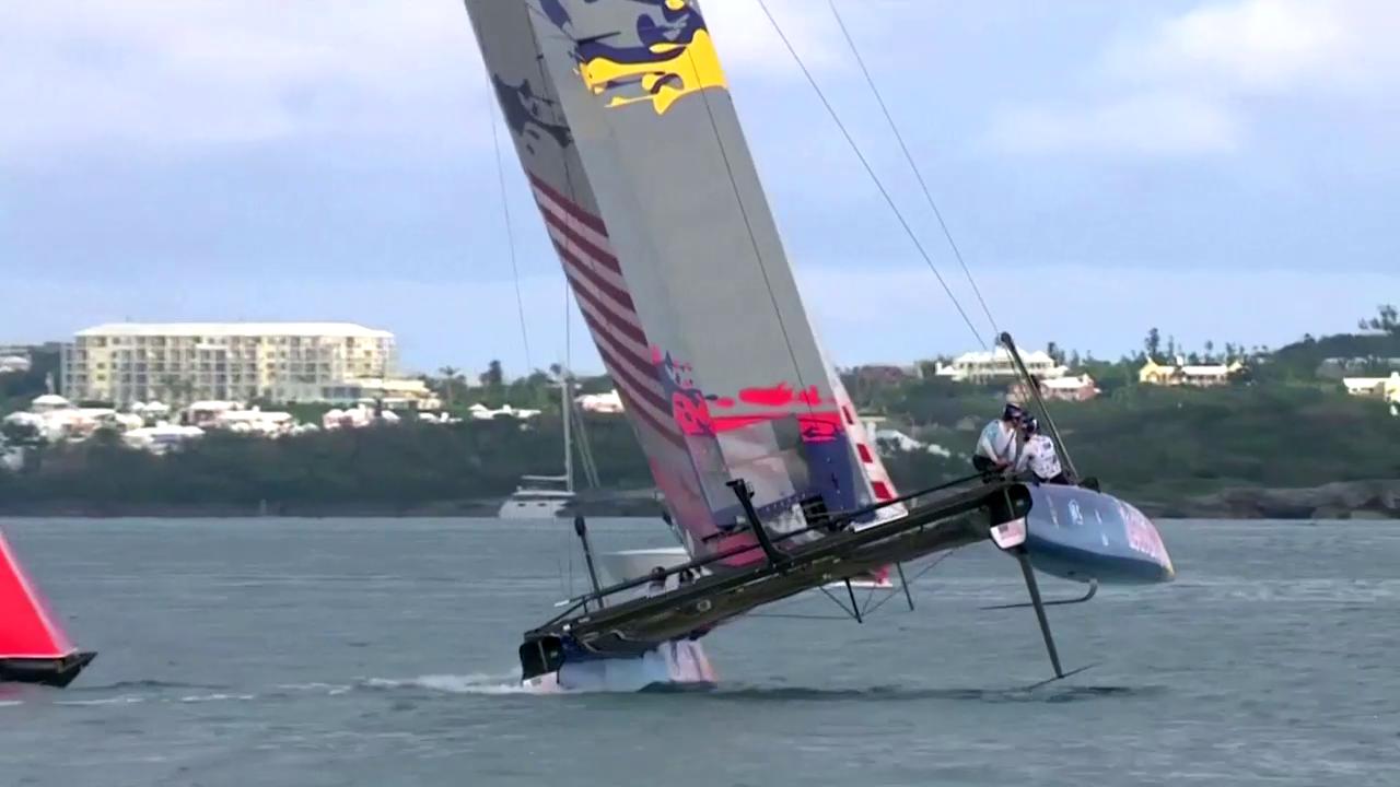 Foiling: So fliegen die Boote am America's Cup