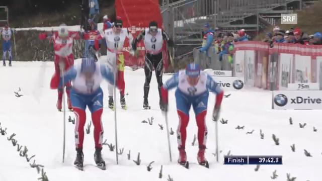 Langlauf: Schlussphase 2. Etappe Tour de Ski («sportlive»)