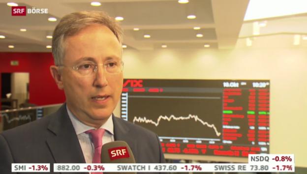 Video «SRF Börse vom 10.10.2014» abspielen