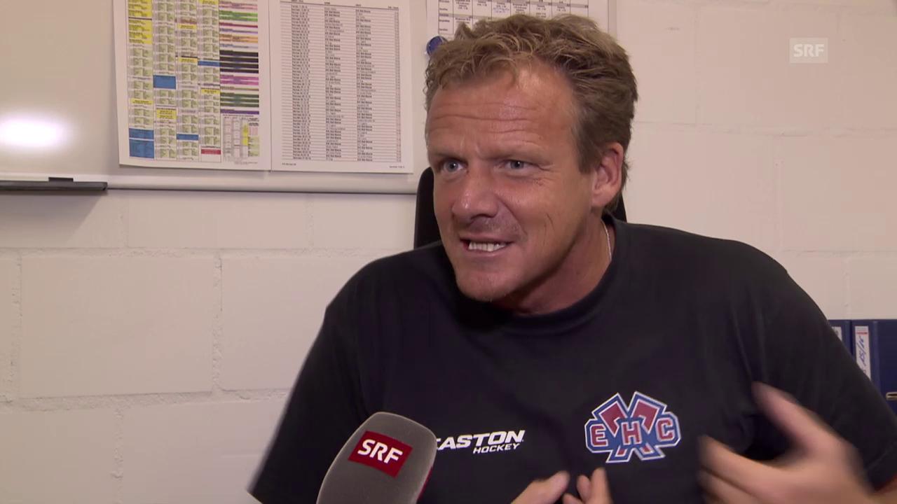 Eishockey: Biel-Trainer Kevin Schläpfer über den Farbenstreit