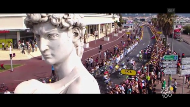 Video «Die Highlights der 100. Tour de France» abspielen