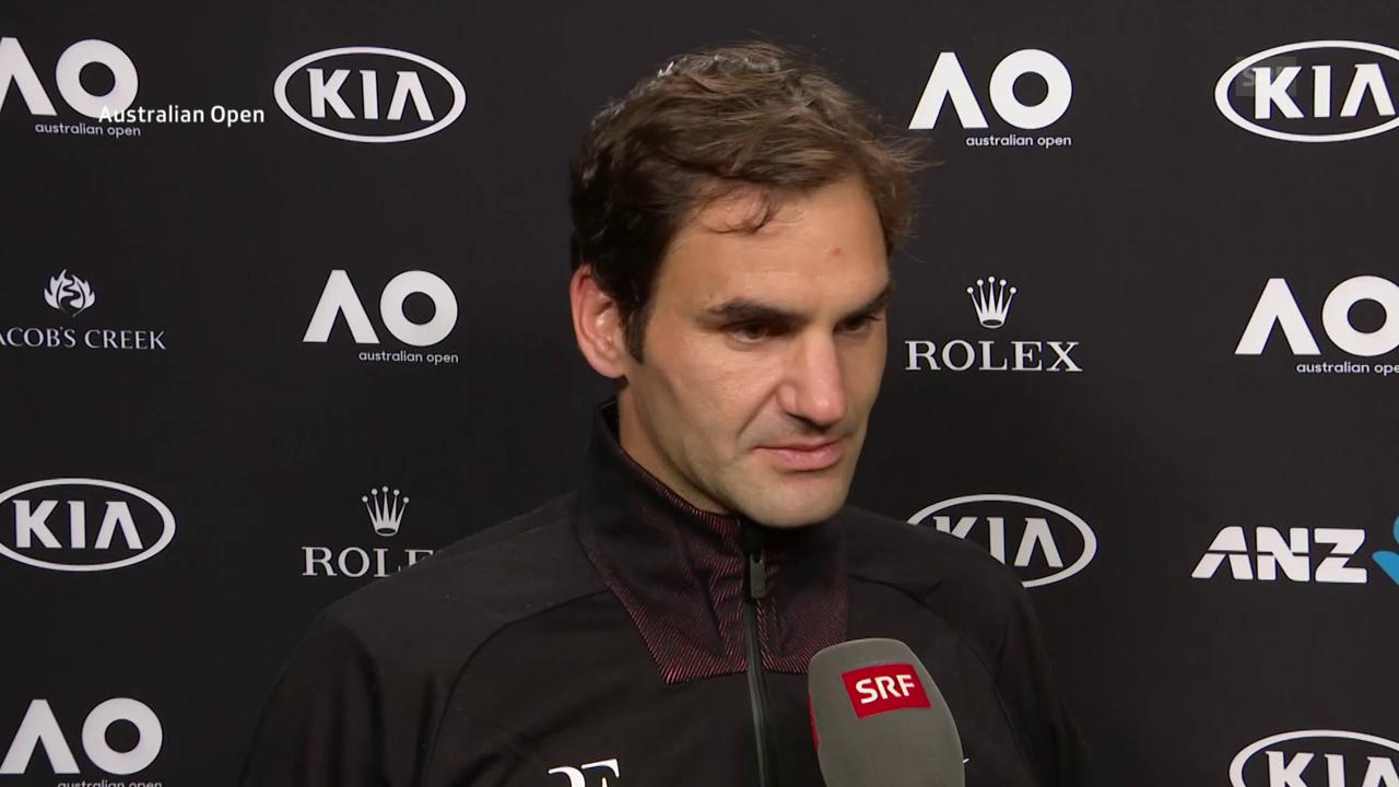 Federer: «Ich werde ihn noch genau studieren müssen»