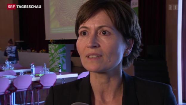 Video «Grünen-Co-Präsidentin Regula Rytz zum Fall Geri Müller» abspielen