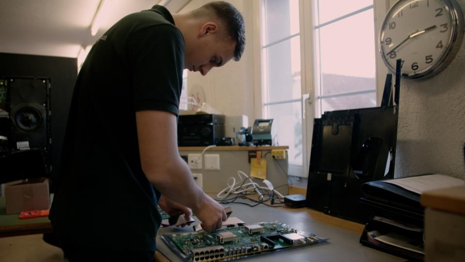Berufsbild - Multimediaelektroniker EFZ