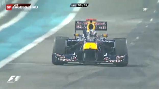 Video «Formel 1: Das Saisonfinale in Abu Dhabi 2010 (Beitrag «Tagesschau»)» abspielen