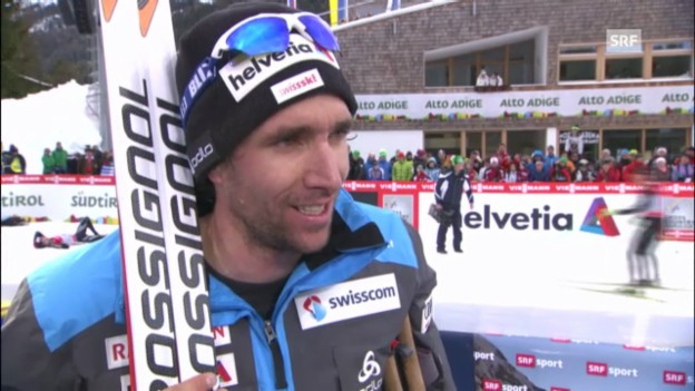 Video «Tour de Ski: Interview mit Curdin Perl» abspielen