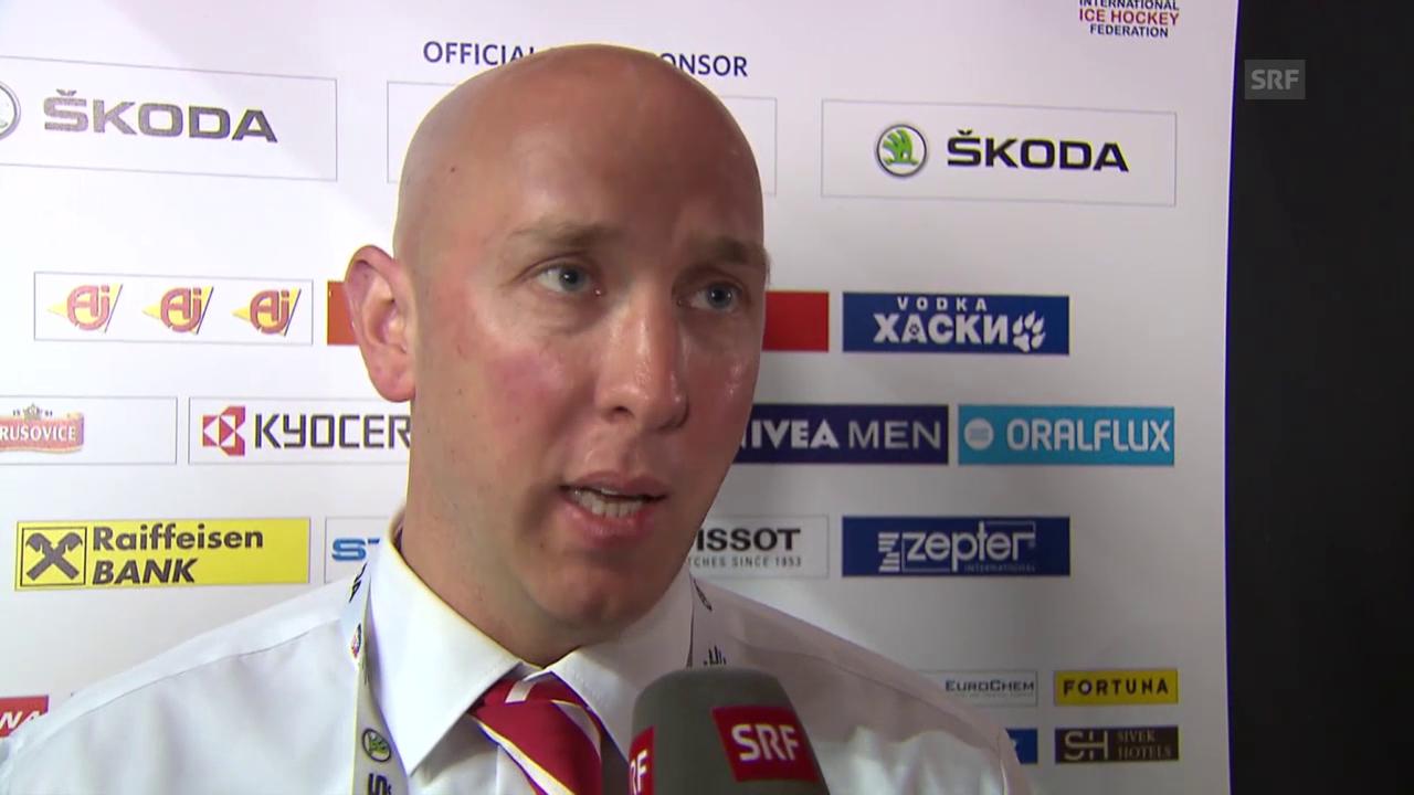 Eishockey: Interview mit John Fust zum Lettland-Spiel
