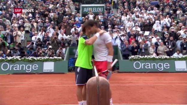 Video «Tennis: Nadal gewinnt Final der French Open» abspielen