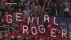Video «Federer im Final in Basel» abspielen