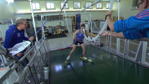 Video «Biathlon: Selina Gasparin vor der Saison» abspielen