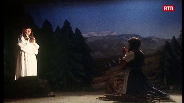 Laschar ir video «400 onns pelegrinadi a Ziteil – Svizra Rumantscha dals 14-09-1980»