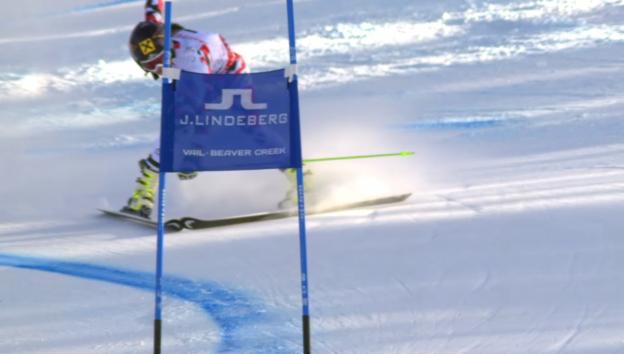 Video «Ski alpin: WM in Vail/Beaver Creek, RS Frauen» abspielen