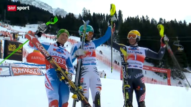 Ski: Slalom Männer auf der Lenzerheide
