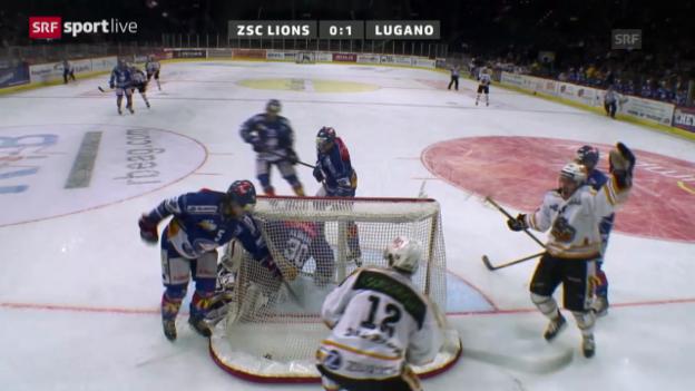 Video «NLA: ZSC Lions - Lugano» abspielen