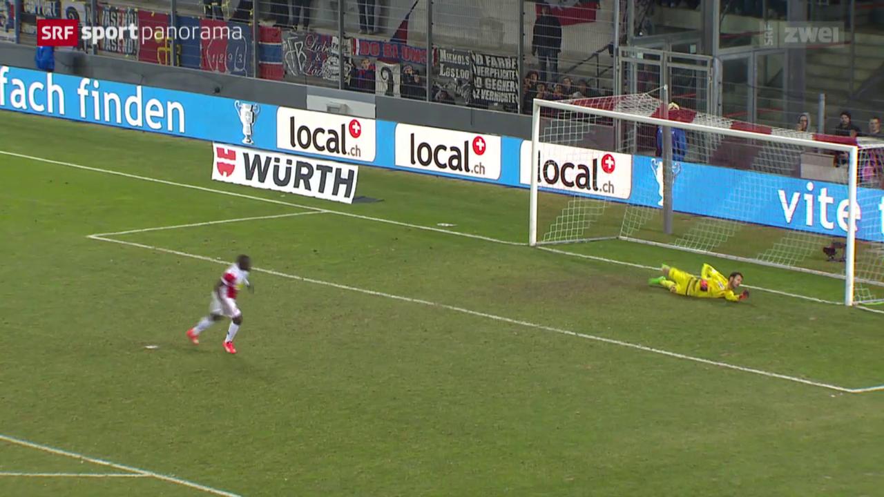 Fussball: Schweizer Cup, Sion - Basel