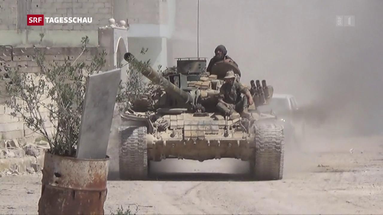 Möglicher Chemiewaffeneinsatz in Syrien