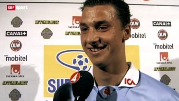 Video «Genial, aber unbequem: Die Geschichte des Zlatan Ibrahimovic» abspielen
