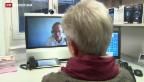 Video «Arzt-Konsultation via Bildschirm» abspielen