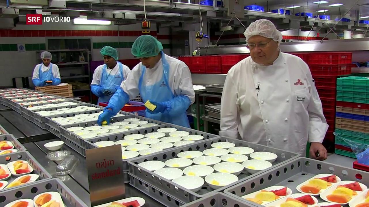 «Das Menü von morgen»: Chefkoch der grössten Flugküche