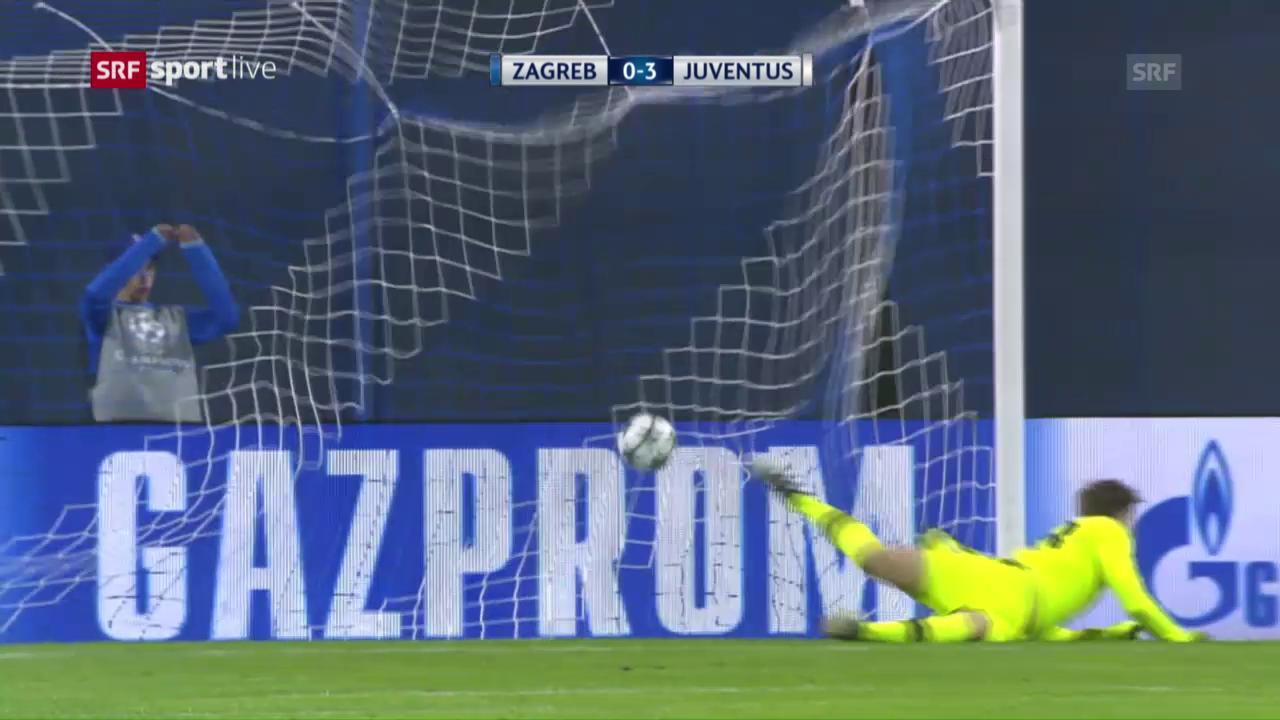 Juventus Turin lässt Dinamo Zagreb keine Chance