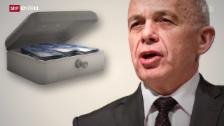 Video «Das erwartet Ueli Maurer im Finanzdepartement» abspielen