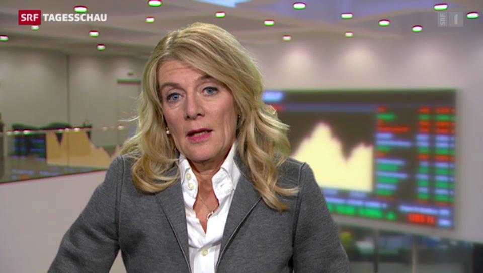 SRF-Wirtschaftsredaktorin Marianne Fassbind zu den Hintergründen