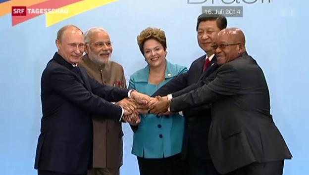 Video «Gipfeltreffen der Brics-Staaten» abspielen