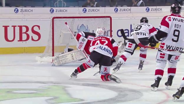 Video «Eishockey: Spengler Cup, Zusammenfassung Jekaterinburg-Team Canada» abspielen