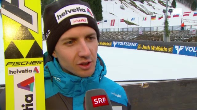 Skispringen: Interview Simon Ammann