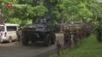 Video «Gefechte auf den Philippinen» abspielen