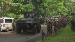 Video «Gefechte auf den Philippinen » abspielen